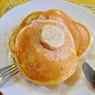 水切りヨーグルト☆ビルズ風パンケーキ