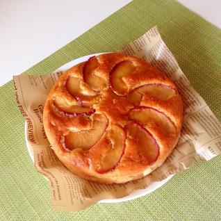 HMで簡単 りんごケーキ
