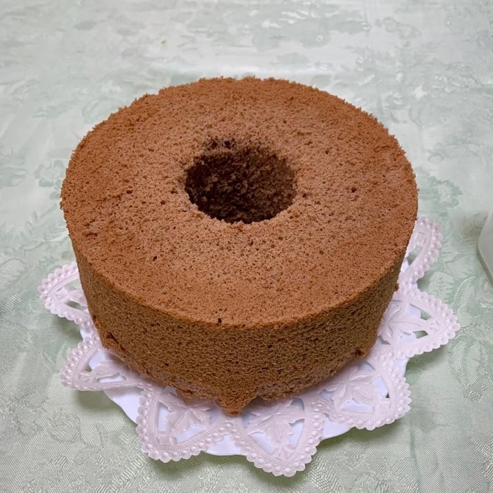 シフォン ケーキ ココア