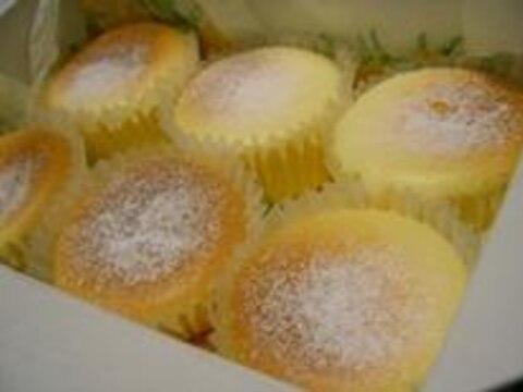 しゅわっと♪スフレチーズケーキ*