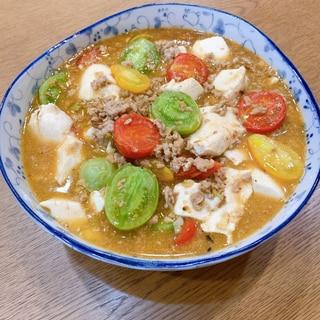 カラフルトマトのマーボー豆腐
