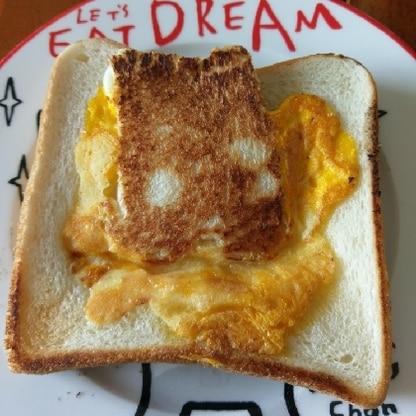 簡単に美味しくてきました。 パン1枚で満足できるボリュームでした。