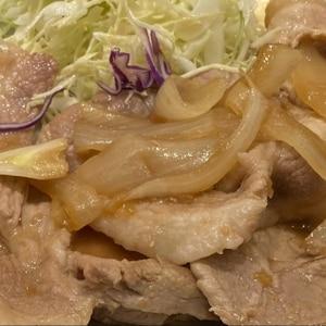 鶏の生姜焼き。