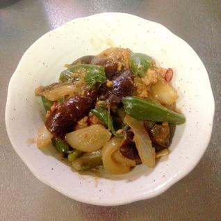 ご飯が進む♪鶏ひき肉と野菜の味噌炒め☆