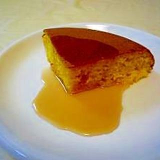 ホットケーキミックスと炊飯器で♪ にんじんのケーキ