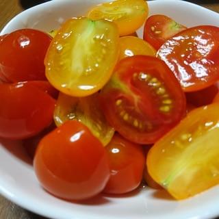 浅漬けの素で★大量消費★ミニトマトの浅漬け