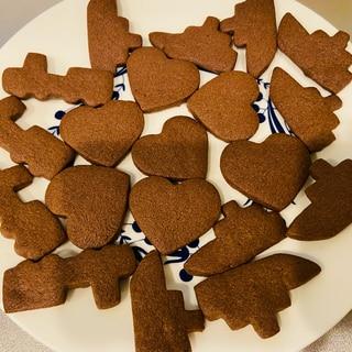 少ない材料!少ない洗い物!簡単ココアクッキー♪