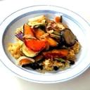 焼き野菜のせドライカレー