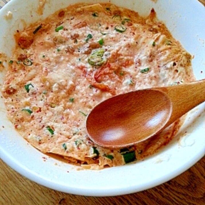 豆腐 納豆 キムチ