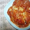 鶏むね肉の漬け込みトマトオーブン焼き★
