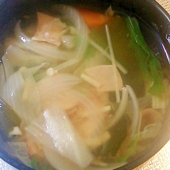 野菜のすまし汁☆