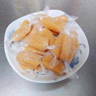 牛乳・砂糖・バター・ハチミツのみで作る生キャラメル