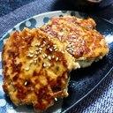 鶏ムネ肉と豆腐のふわふわヘルシーハンバーグ