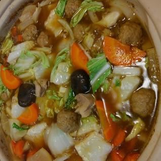 鍋の素がなくても創味のつゆで簡単なべ