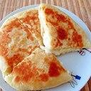 フライパンで、ポテトチーズパン