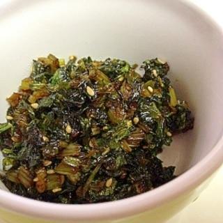 捨てないで☆セロリの葉の佃煮