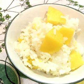 簡単☆栗ごはん風味のインカのめざめ炊込みご飯