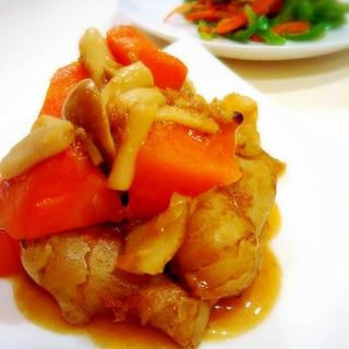 菊芋のきんぴら風煮物