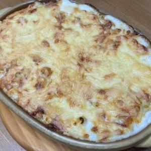 長芋と豆腐のとろとろグラタン