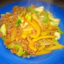 簡単美味しい☆チンゲン菜とひき肉の炒め物