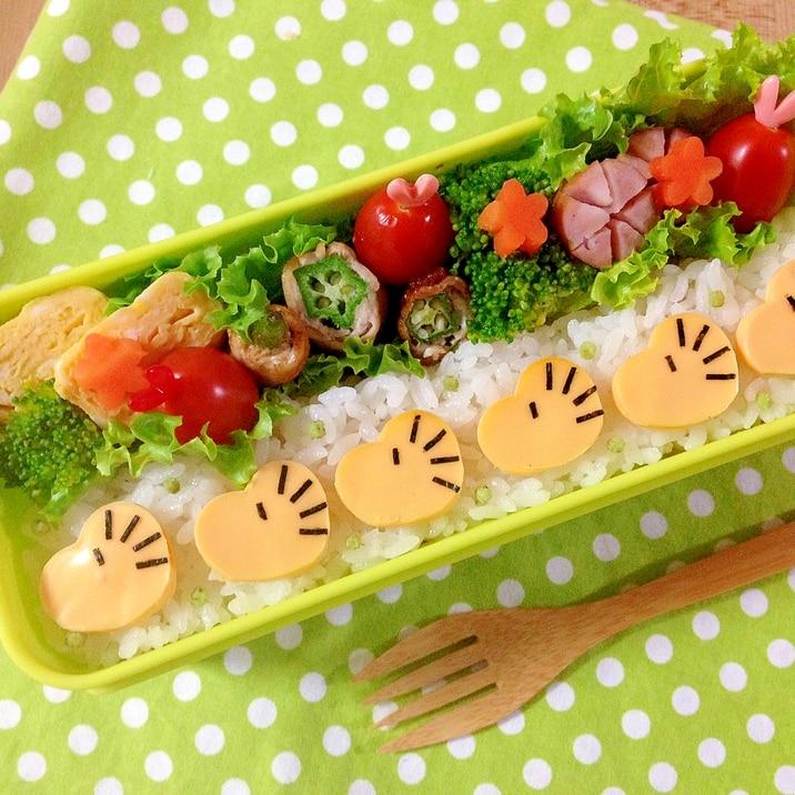 簡単キャラ弁☆ウッドストックのお弁当♪