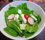 山芋とほうれん草サラダ