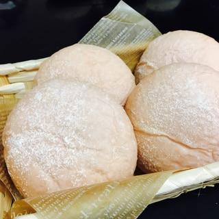 苺ミルク食パンミックスで☆苺チョコクリームパン☆