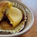 クリーム入りチーズとミックスベリーのカップケーキ
