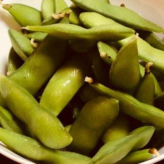 おいしい枝豆のゆで方
