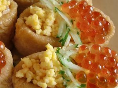 お稲荷ちらし寿司。