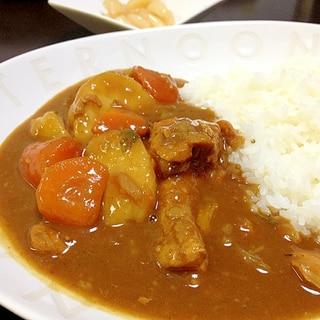 圧力鍋で手羽元チキンカレー☆