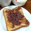 名古屋人がこよなく愛する小倉トースト♪私流w