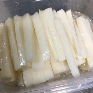 簡単酢で長芋作り置き!