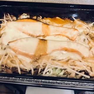 鮭のちゃんちゃん焼き (チーズのせ)