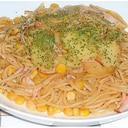 ある物でささっと作るジャーマンポテト風スパゲティー