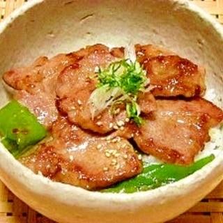 柚子胡椒香る☆ガッツリ豚丼