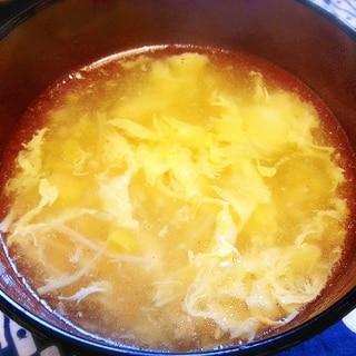 簡単5分! ふわっふわ卵の中華風コーンスープ☆