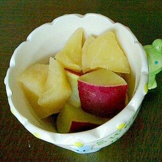 リンゴとさつまいものコンポート