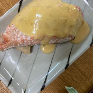 生鮭の味噌マヨネーズ
