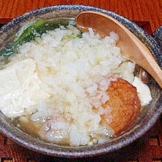 寒い日に大根おろしがおいしい☆雪鍋(みぞれ鍋)