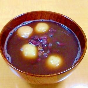 意外と簡単。小豆から作るぜんざい(おしるこ)