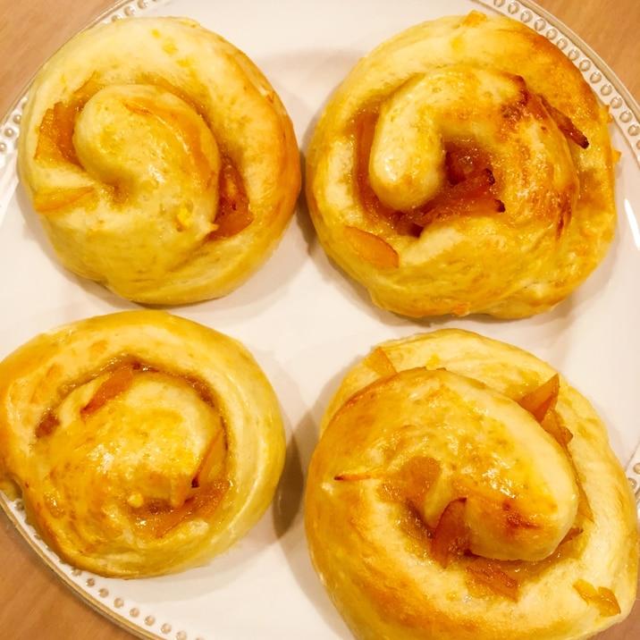 *PanasonicHB*ロール夏みかんパン
