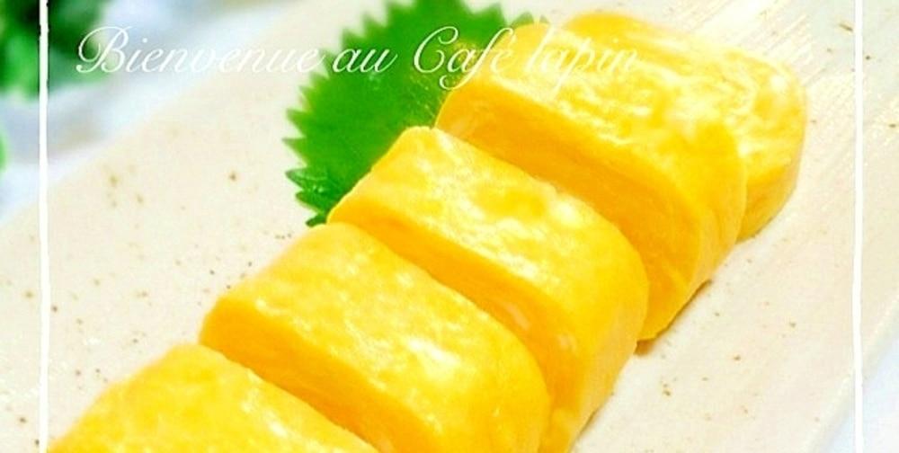 【花嫁キッチン】レッスン#4:基本の「甘い卵焼き」と「だし巻き卵」をマスター