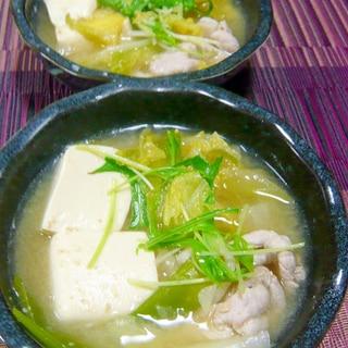 ❤ 野菜と豆腐、豚肉の味噌煮 ❤