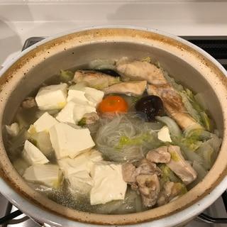 鍋キューブ 鶏だし・うま塩 で我が家のちゃんこ鍋