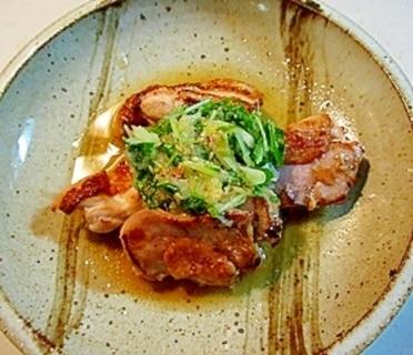 簡単♪鶏の味噌焼きおろしダレ