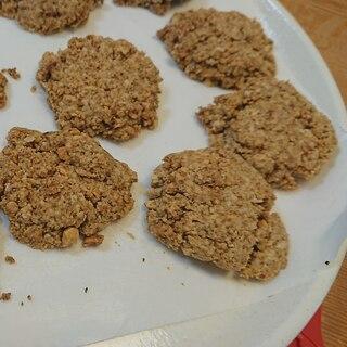 小麦粉、卵なし!オートミールのアーモンドクッキー