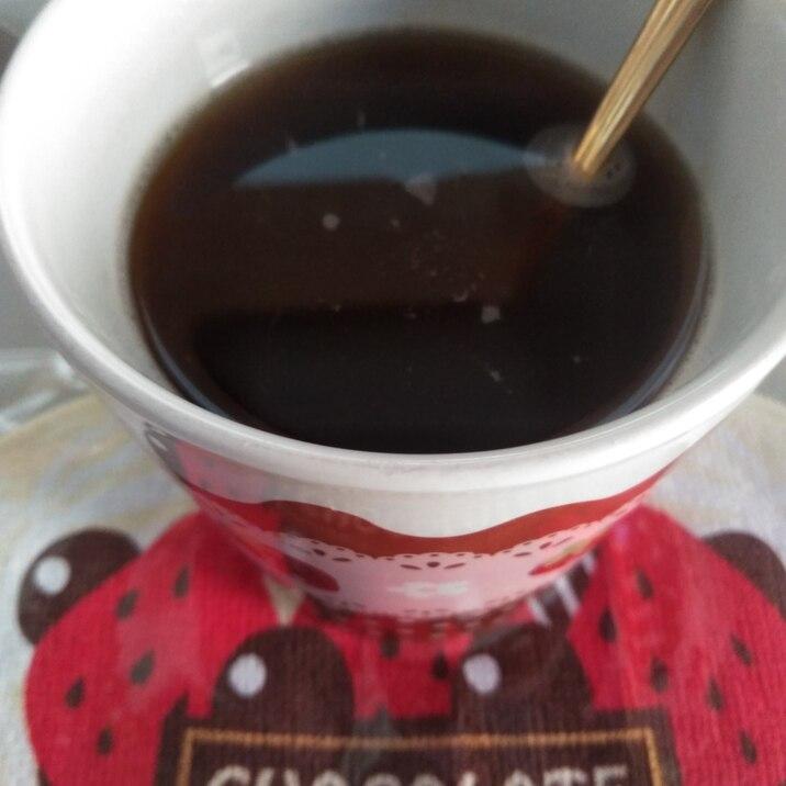 シナモンとジンジャーのコーヒー