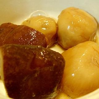 里芋と干し椎茸の煮もの