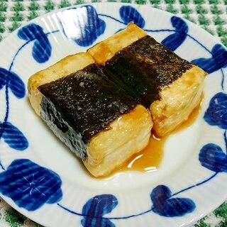 磯辺豆腐のステーキ